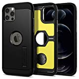 Spigen Tough Armor Designed for iPhone 12 Case (2020) / Designed for iPhone 12 Pro Case (2020) - Black
